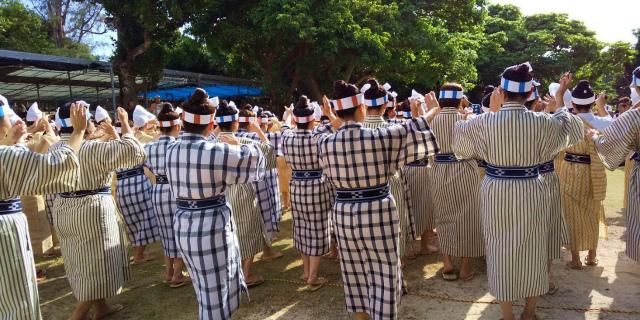 八重山の祭り 種子取祭(竹富島)前編 庭の芸能