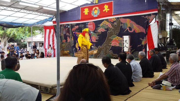 八重山の祭り 種子取祭(竹富島)後編 舞台の芸能